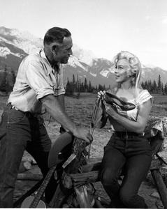 """River of No Return""Marilyn Monroe1954 20th Century Fox** I.V. - Image 9550_0048"