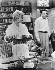 """Seven Year Itch, The""Marilyn Monroe, Tom Ewell1955 / 20th Century Fox**R.C. - Image 9554_0031"