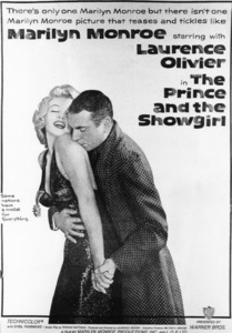 """Prince And The Showgirl, The"" lobby card.1957 / Warner**R.C. - Image 9555_0004"