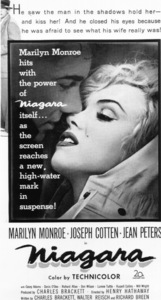 """Niagara""Marilyn Monroe1953 / 20th Century Fox**R.C. - Image 9558_0003"