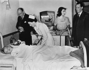 """Niagara""Marilyn Monroe, Lester Mathews, Jean Petersand Dennis O"