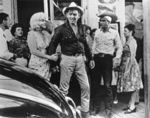 """Misfits, The""Marilyn Monroe, Clark Gable andMontgomery Clift. 1961 / UA**R.C. - Image 9559_0022"