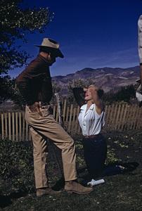 """The Misfits""Clark Gable, Marilyn Monroe1961© 1978 Al St. Hilaire - Image 9559_0032"