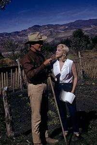 """The Misfits""Clark Gable, Marilyn Monroe1961© 1978 Al St. Hilaire - Image 9559_0037"