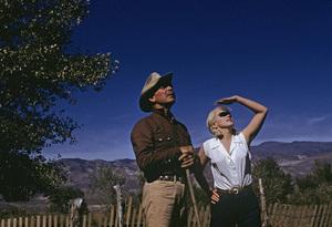 """The Misfits""Clark Gable, Marilyn Monroe1961© 1978 Al St. Hilaire - Image 9559_0038"
