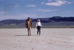 """The Misfits""Director John Huston, Marilyn Monroe1961© 1978 Al St. Hilaire - Image 9559_0044"