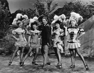 """A Ticket to Tomahawk""Marilyn Monroe, Barbara Smith, Dan Dailey, Joyce Mackenzie, Marion Marshall1950** R.C. - Image 9561_0005"