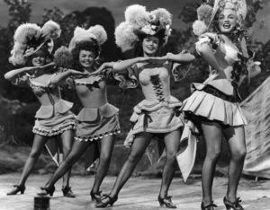 """A Ticket to Tomahawk""Marilyn Monroe, Barbara Smith, Joyce Mackenzie, Marion Marshall1950** R.C. - Image 9561_0009"