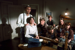 """Waltons, The""R. Thomas, J. Taylor, D. Harper, K. Cotlrer,J.Walmsley, M. McDonnough, E. Scott1975 CBSPhoto by Marv NewtonMPTV - Image 9565_0009"
