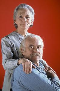 """The Waltons""Ellen Corby, Will Geer1982 © 1982 Gene Trindl - Image 9565_0035"