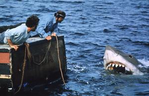 """""""Jaws""""Richard Dreyfuss © 1975 UnivesalPhoto by Bud Gray - Image 9575_0010"""