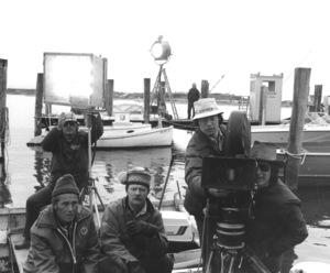"""""""Jaws""""Steven Speilberg and crew1974 Universal**I.V. - Image 9575_0028"""