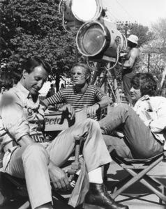 """Jaws""Roy Scheider, producer Richard D. Zanuck, director Steven Speilberg1975 Universal** I.V. - Image 9575_0029"