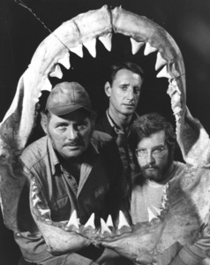 """Jaws""Robert Shaw, Roy Scheider and Richard Dreyfuss1974 Universal**I.V. - Image 9575_0031"