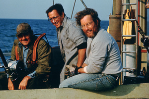 """""""Jaws""""Robert Shaw, Roy Scheider, Richard Dreyfuss1975 Universal Pictures - Image 9575_0041"""