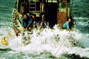 """""""Jaws""""Robert Shaw, Roy Scheider, Richard Dreyfuss1975 Universal Pictures - Image 9575_0053"""