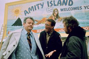 """Jaws""Murray Hamilton, Roy Scheider, Richard Dreyfuss1975 Universal Pictures - Image 9575_0054"