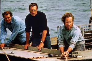 """Jaws""Robert Shaw, Roy Scheider, Richard Dreyfuss1975 Universal Pictures - Image 9575_0064"