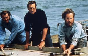 """Jaws""Robert Shaw, Roy Scheider, Richard Dreyfuss1975 Universal Pictures** I.V. - Image 9575_0070"