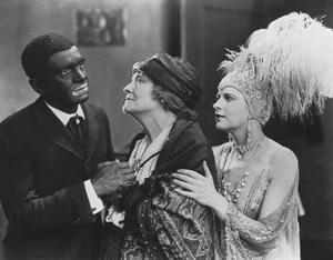 """""""The Jazz Singer""""Al Jolson, Eugenie Besserer, & Audrey Ferris1927 Warner**R.C. - Image 9576_0003"""