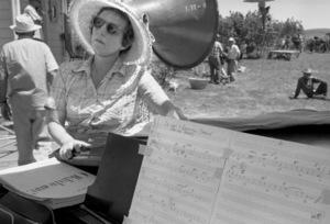 """Oklahoma!""Choreographer Agnes de Mille1955© 1978 Bob Willoughby - Image 9577_0005"