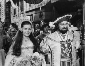 """Anne of the Thousand Days""Genevieve Bujold, Richard Burton1969 Universal - Image 9599_0007"
