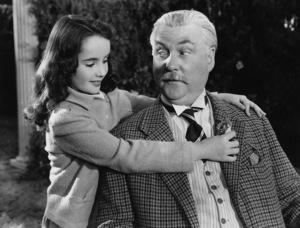 """""""Lassie Come Home"""" Elizabeth Taylor, Frank Morgan 1943 - Image 9606_0003"""