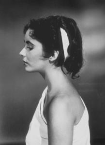 """Quo Vadis""Elizabeth Taylor screen test1951 MGM**R.C.MPTV - Image 9615_0002"
