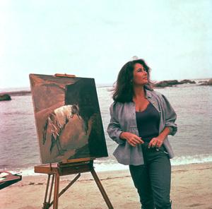 """Sandpiper""Elizabeth Taylor 1965 MGM © 1978 Bernie AbramsonMPTV - Image 9620_0012"