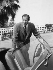 Rex Harrison and his car circa 1952 © 1978 Paul Hesse - Image 962_34