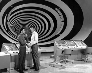 """""""The Time Tunnel""""James Darren and Robert Colbertc. 1966 / ** I.A. © Irwin Allen Properties, LLC and Twentieth Century Fox Film Corporation. All rights reserved - Image 9631_0012"""