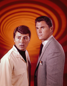 """""""The Time Tunnel""""James Darren and Robert Colbertc. 1966 / ** I.A. © Irwin Allen Properties, LLC and Twentieth Century Fox Film Corporation. All rights reserved - Image 9631_0014"""