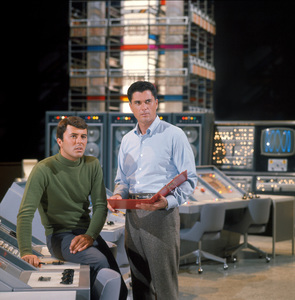 """The Time Tunnel""James Darren and Robert Colbertc. 1966 / ** I.A. © Irwin Allen Properties, LLC and Twentieth Century Fox Film Corporation. All rights reserved - Image 9631_0015"