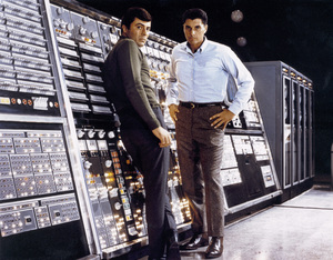 """""""The Time Tunnel""""James Darren and Robert Colbertc. 1966 / ** I.A. © Irwin Allen Properties, LLC and Twentieth Century Fox Film Corporation. All rights reserved - Image 9631_0017"""