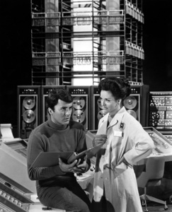 """""""The Time Tunnel""""James Darren and Lee Meriwetherc. 1966 / ** I.A. © Irwin Allen Properties, LLC and Twentieth Century Fox Film Corporation. All rights reserved - Image 9631_0022"""