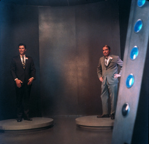 """The Time Tunnel""Robert Colbert, Gary Merrillc. 1966 / ** I.A. © Irwin Allen Properties, LLC and Twentieth Century Fox Film Corporation. All rights reserved - Image 9631_0039"