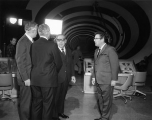 """""""The Time Tunnel""""Director Irwin Allenc. 1966 / ** I.A. © Irwin Allen Properties, LLC and Twentieth Century Fox Film Corporation. All rights reserved - Image 9631_0050"""