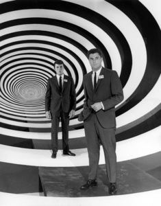 """""""The Time Tunnel""""James Darren and Robert Colbertc. 1966 / ** I.A. © Irwin Allen Properties, LLC and Twentieth Century Fox Film Corporation. All rights reserved - Image 9631_0054"""