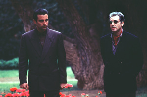 """Godfather III""Andy Garcia, Al Pacino © 1990 Paramount - Image 9634_0001"