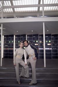 """""""Space: 1999""""Martin Landau, Barbara Bain1975© 1978 Gunther - Image 9635_0010"""