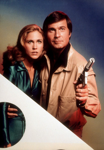 """""""Buck Rogers in the 25th Century""""Erin Gray, Gil Gerard1979 NBCPhoto by Herb BallMPTV - Image 9641_0019"""