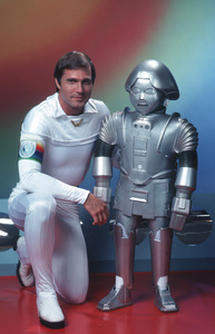 """Buck Rogers in the 25th Century""Gil Gerard, Twiki the Robot1979**H.L. - Image 9641_0028"