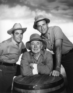 """The Real McCoys""Tony Martinez, Walter Brennan, Richard Crenna1957Photo by Gabi Rona - Image 9660_0003"