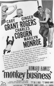 """Monkey Business"" Advertisement.1952 / 20th Century Fox**R.C. - Image 9666_0002"