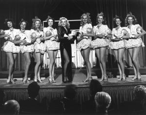 """Ladies Of The Chorus""Marilyn Monroe, Adele Jergens1948 Columbia / **R.C. - Image 9668_0013"