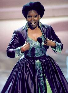 """Academy Awards: 65th Annual,""Whoopi Goldberg.  1993. © 1993 AMPAS/LPI - Image 9677_0003"