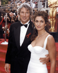 """""""Academy Awards: 65th Annual""""Richard Gere and wife Cindy Crawford1993 © 1993 AMPAS/LPI - Image 9677_0007"""