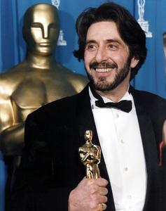 """Academy Awards: 65th Annual""Al Pacino, Best Actor Award winner1993 © 1993 AMPAS/LPI - Image 9677_0008"