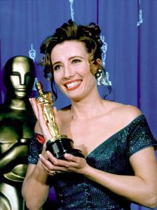 """Academy Awards: 65th Annual,""Emma Thompson, Best Actress winner.1993. © 1993 AMPAS/ LPI - Image 9677_0011"