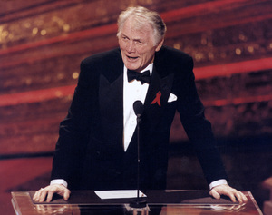 """Academy Awards: 65th Annual""Jack Palance, award presenter1993 © 1993 AMPAS/LPI - Image 9677_0013"